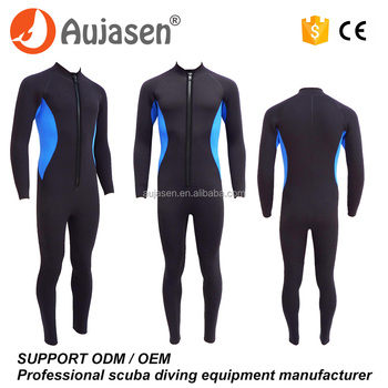 4-9mm Quality neoprene scuba diving suits for men