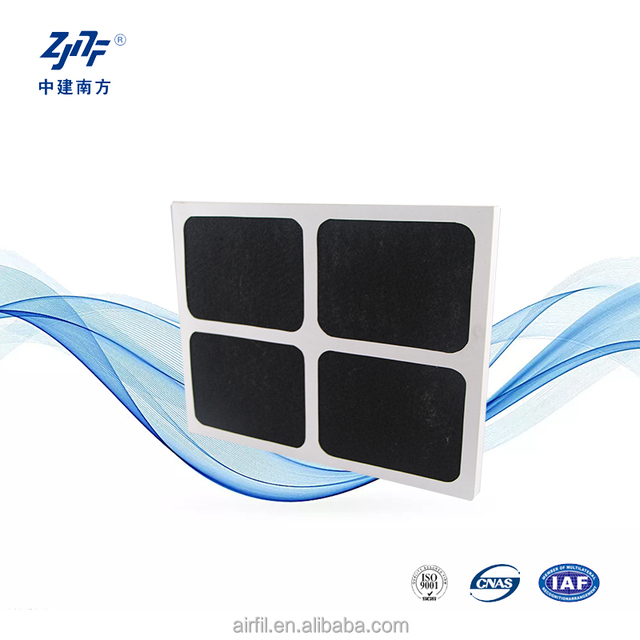 paper frame pre efficience sponge air conditioning filter
