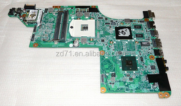 Original DV7 DV7-4000 series motherboard 630985-001 laptop motherboard 100% tested working