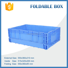 Warehouse Plastic Logistic Container Turnover Box Plastic Moving Crates For Tool Transportation