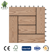 Factory price composite wood plastic outdoor wpc interlocking deck