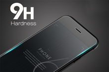 Anti scratch 9h hardness tempered glass screen protector for iPhone mobile