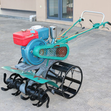 Diesel engine Powered Mini Rotary Tiller / Rice Planting Machine For India