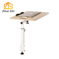 Adjustable notebook computer table Folding computer desk used in bed dormitory