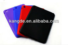 "7.9"" rugged silicone tablet case for ipad mini &customized shockproof silicone skin cover for kids"