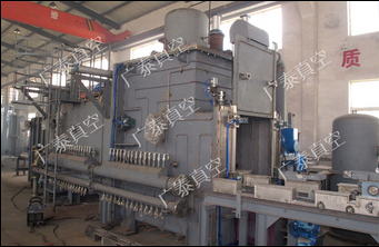 VCL series three-chamber vacuum sintering furnace