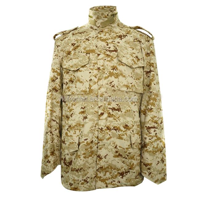 Digital winter camouflage m65 field jacket digital camo army desert