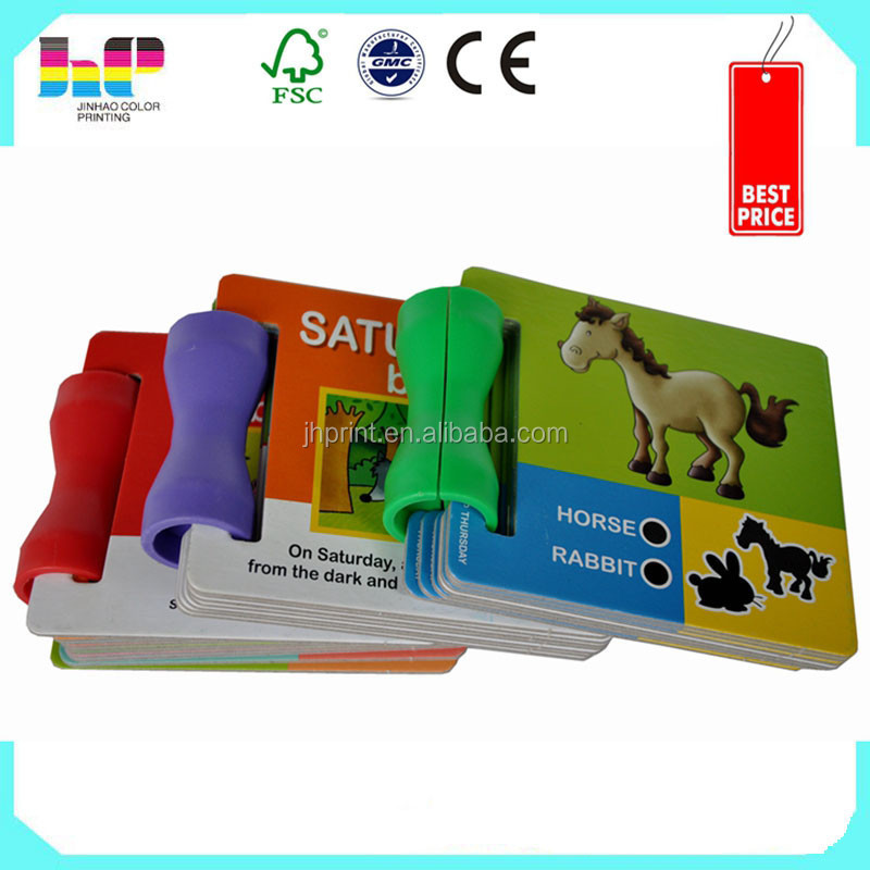 cartoon picture children english story cardboard books printing