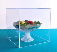 Clear Acrylic Assembly Collectibles, Statues, Dolls, Figurines Sports Helmets Display Box Cube Holder Case Showcase (12x12x12)