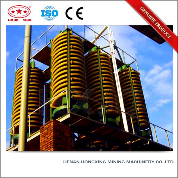 gold gravity spiral chute separator for mining