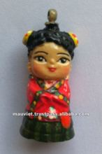 Polyresin Korean traditional design figurine for home decoration