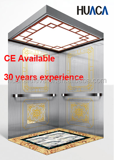center open door Passenger Elevator for resident building with speed 2.0mps