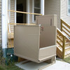 electric hydraulic wheelchair lift/stairs assist