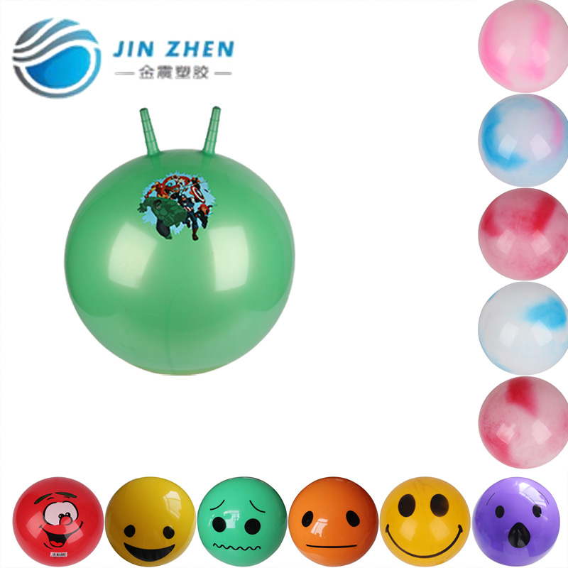 inflatable kids jumping ball funny face ball