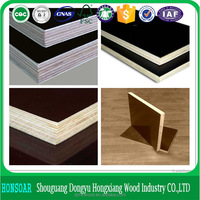 types of wood veneer for construction,18mm brown/brown hardwood film faced plywood