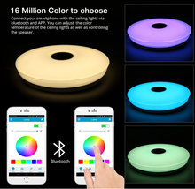 Mi.light 2.5G RF Remote Wifi Control Dimmable rgbw Color Changing Smart Led Ceiling Panel Light
