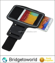 Sport armband jogging running armband case for samsung galaxy note2 3