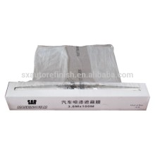 3.8Mx100M clear polythene sheeting car plastic cover static auto paint plastic masking film