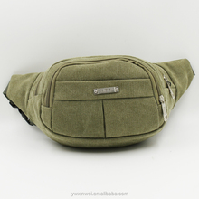 New high quality canvas waist pack,Sports leisure waist pack, Adjustable and fit fanny pack