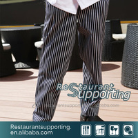 Cook Pants with Vertical Stripe Popular Style Pants