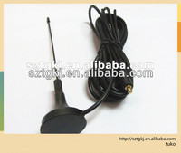 magnetic base tv antenna with 3M RG174 cable
