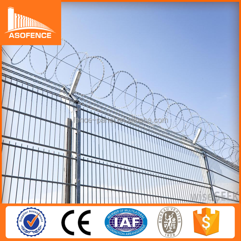2015 low price punched tape concertina coil/razor barbed wire china manufacturer ( ISO9001 professional factory)