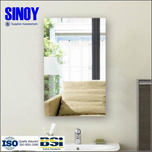Bathroom Mirrors Beveled Edge modern design edge processing bathroom mirror,flat edge,beveled