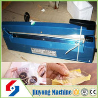 2015 commercial portable high efficiency plastic water bottle sealing cap machine