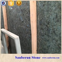 Beautiful Natural Madagascar Labradorite Granite Slab for Hotel
