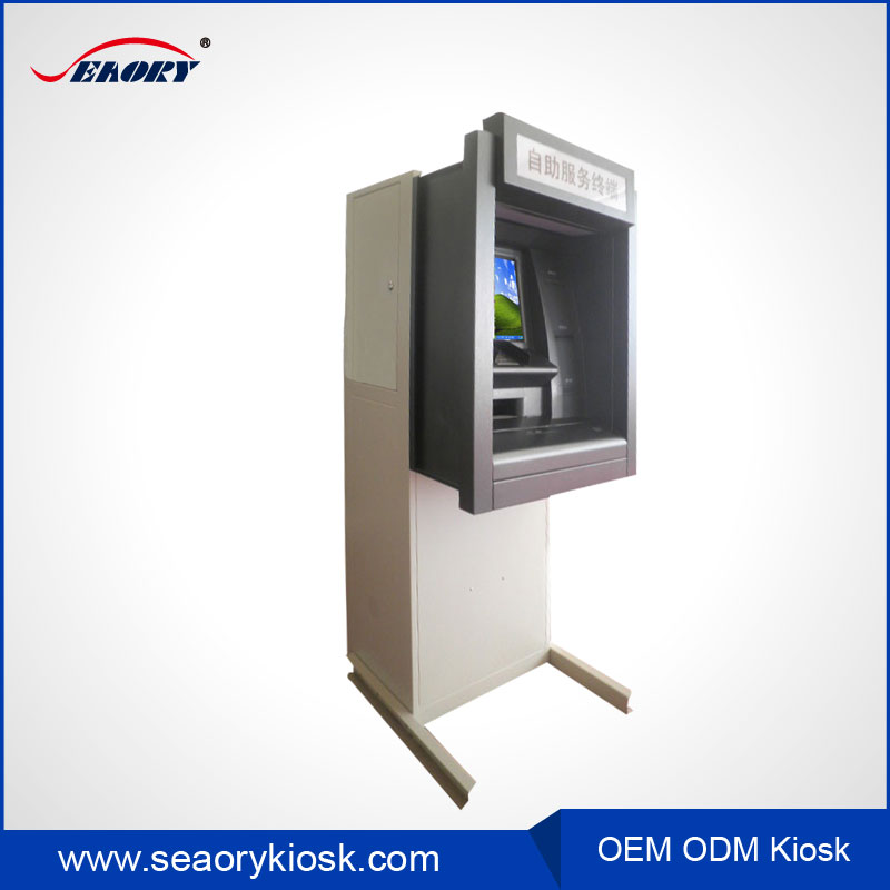 Self-service Payment Bitcoin Kiosk/ Terminal Kiosk WIth Cash Dispenser Redemption Machine