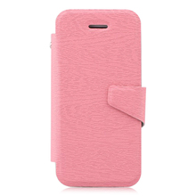 For iphone5C leather phone case, flip leather phone cover, leather back case for iphone 5C