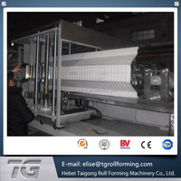 Full automatic 15KW Main Power K Arch Span Roll Forming Machine For 800mm Roof Panel with factory price