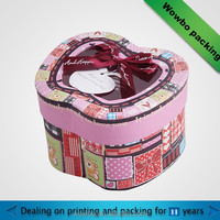 Creative apple shaped candy paperboard box