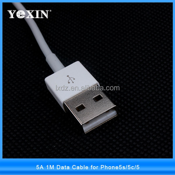 Update 2017 Latest White Wire 8pin USB Date Sync Charging Charger Cable for iPhone 5 5s 6 6 plus iPad fit for ios 11 1M