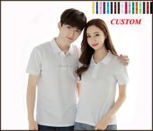 China factory prining sublimation dri fit sports golf polo t shirt white, wholesale mens polo shirts 100% cotton