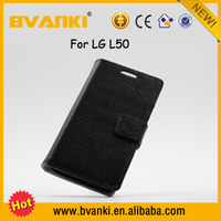 China Mobile Phone Pakistan Price Wallet Leather Stand Cover Case For LG L50 New Arrival 3D Custom Design Phone Case Wholesale