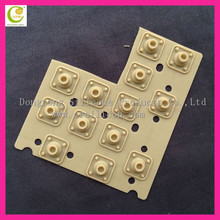 Waterproof Membrane Keypad / Remote Controller Keypad / Laser Etched Rubber Keypad For Newest POS Terminal
