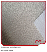 high tearing strength pvc imitation case and bag leather produced in China