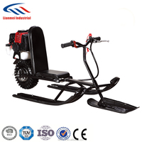 gasolion power snow sledge snow scooter with CE Made in China