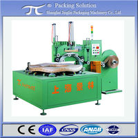 Orbital steel coil wrapping machine GW400, Exterior pipe coil stretch wrapping machine, Electric cable coil packing machine