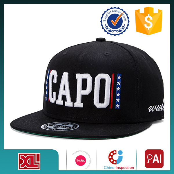 Professional OEM/ODM Factory Supply Top Quality custom fashion snapback hat men