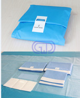 eo sterile hospital disposible medical instruments surgical universal drape kit