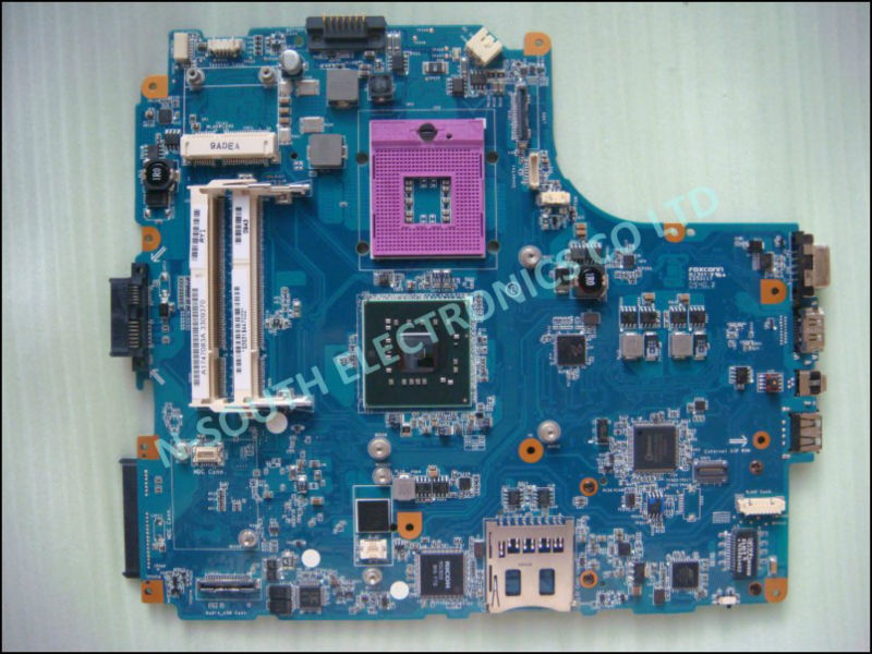 Laptop Motherboard for sony vaio vgn nw mbx-218 nw240 nw350 intel GM45 m851 rev 1.0
