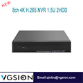4K 8 channel NVR Support ONVIF HDMI H.265/H.264 8ch Mini NVR CCTV Network HD Video Recorder