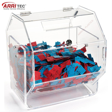 Wholesale Acrylic Raffle Ticket Drum Raffle Box