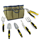 7 in 1 Homegrown Garden Tools Set ERGONOMIC HAND TOOLS With Bag