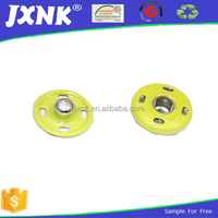 Customized two parts garmet metal magnetic push buttons
