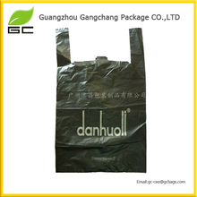 2014 Hot Sell Environmental friendly t shirt plastic bags wholesale