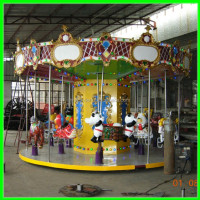 indoor children carousel rides.Shopping mall carousel for sale