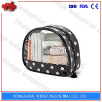 Wholesale Durable Plastic Clear Vinyl PVC Zipper Cosmetic Bag Carrying Tote Travel Case